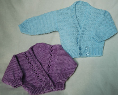 Knitting Pattern Baby Cardigan Newborn : Newborn Baby Cardigan Knitting Patterns - Long Sweater Jacket