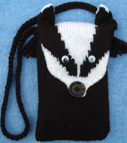 badger-head-purse-mobile-cover