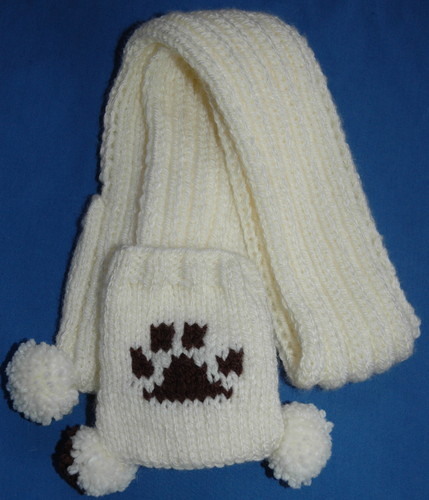 Funky Yarn Knitting Pattern Elmo Style Headband Childrens To