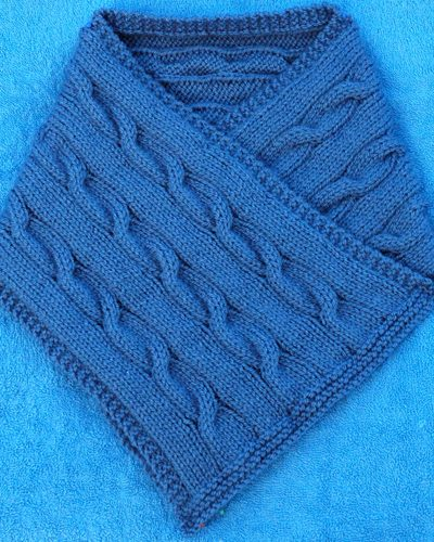 Knitting pattern for mens classic cowl
