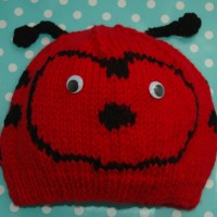 Chunky ladybird Hat Childrens to Adults