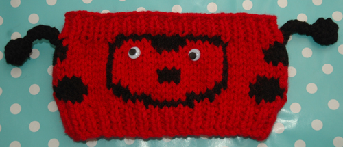 Chunky Ladybird Headband Childrens to Adults