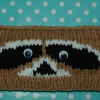 Chunky Racoon Headband Childrens to Adults