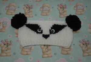 Chunky Badger Headband Pattern