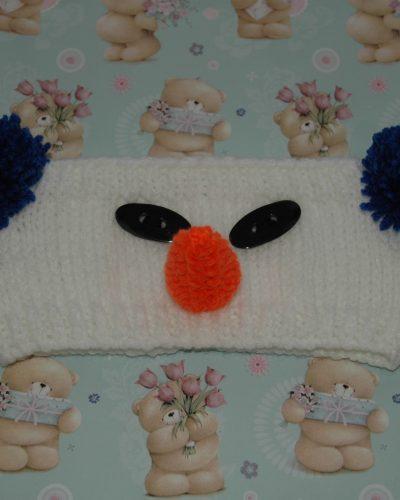 Chunky Snowman Headband