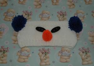 Chunky Snowman Headband Pattern