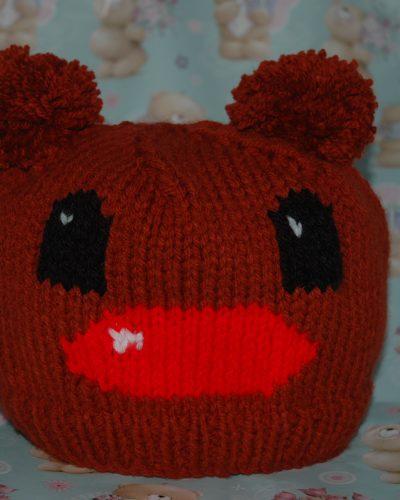 Chunky Reindeer Hat