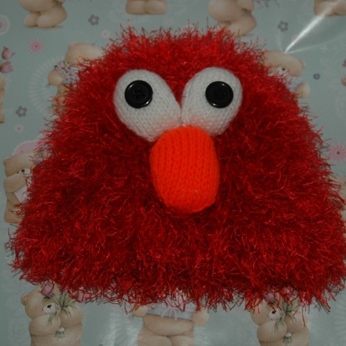 Funky   Knitting pattern   Elmo style hat   children s to ...