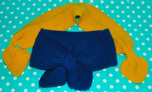 FREE knitting pattern - DK necker