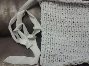 T-shirt knitting