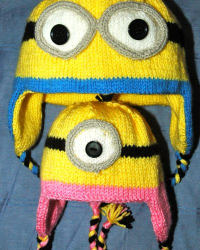 Minions Hat & Mitts