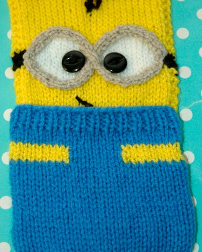 Blue and yellow pocket Minion
