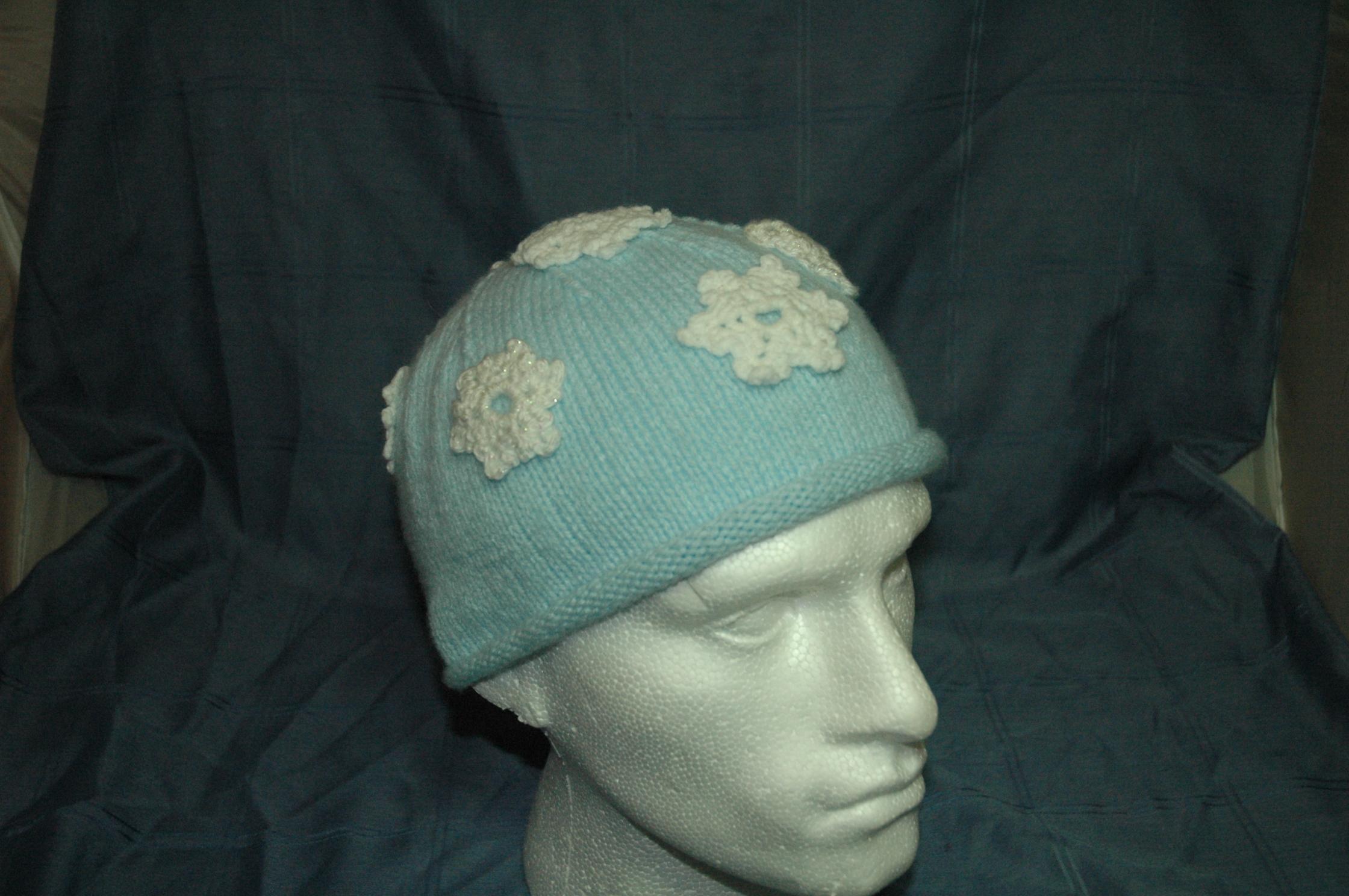 Snowflake hat – Christmas 2013