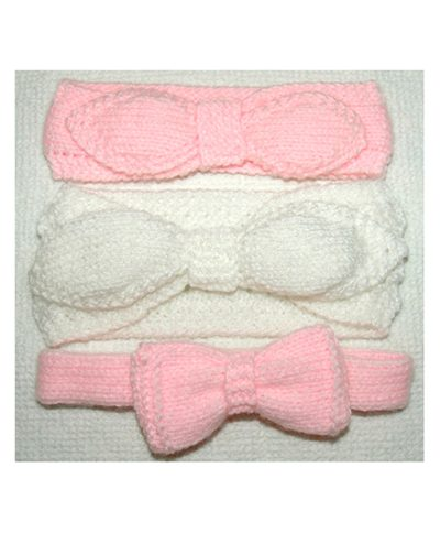 babies knitted headbands