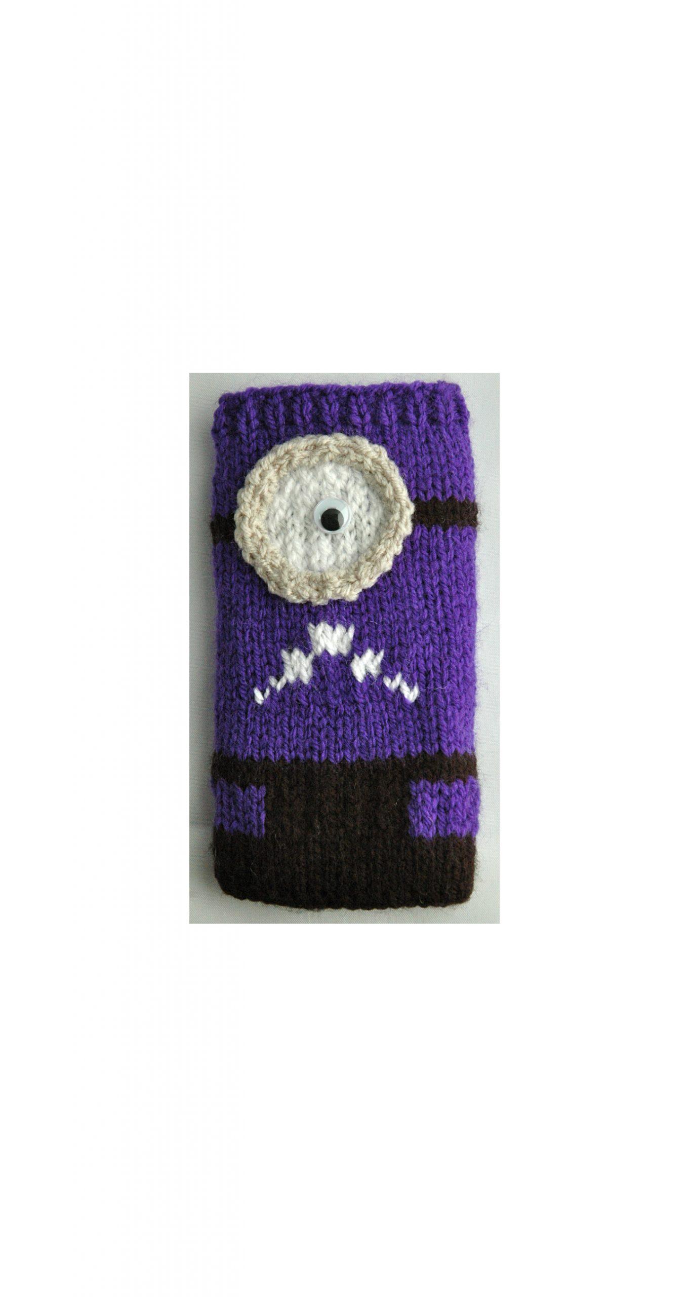 evil purple minion cover