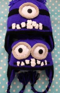 Evil minion hat pattern