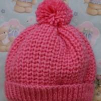 Aran Babies Fisherman's Rib Hat