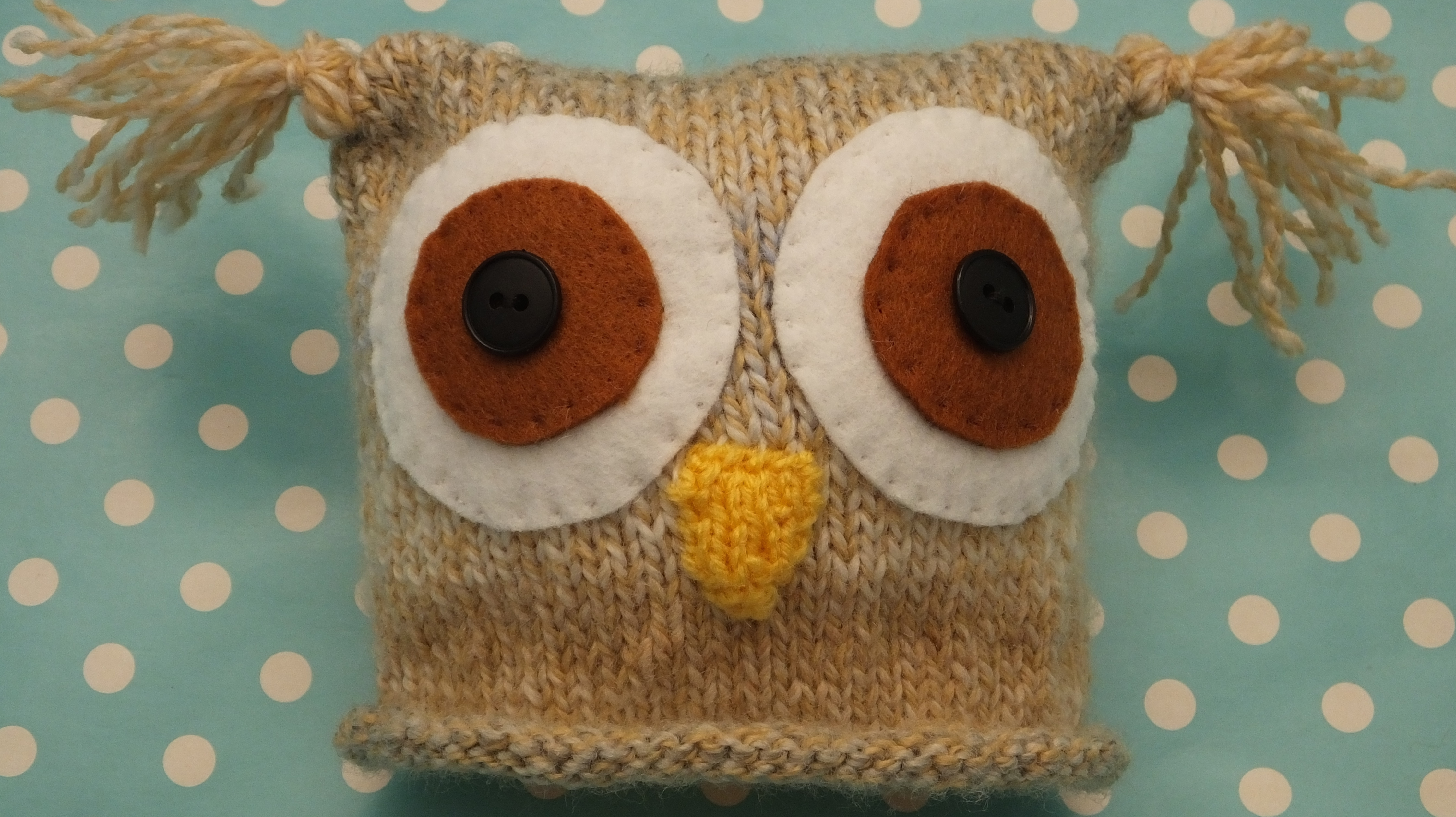 Dk knitting pattern babies teddy bear owl hats knitsrus babies owl hat bankloansurffo Image collections