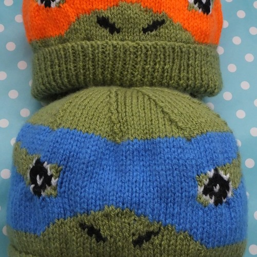 Knitting Pattern Turtle Hat : DK   Knitting pattern   Turtle Beanie Hat KnitsRUs