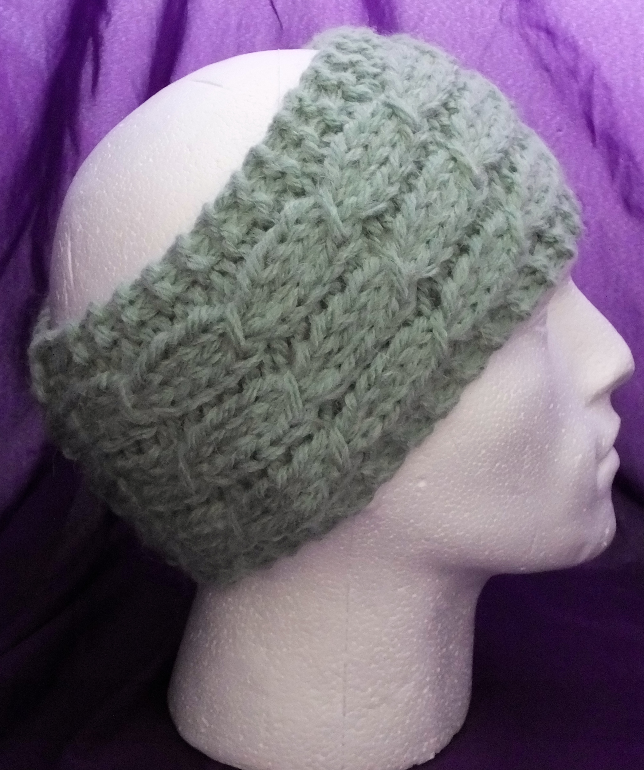 Super Chunky Mock Cable Headband