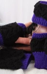 DK Fishtail Lacy Boot Cuffs, Cuffs & Fingerless Gloves