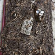 Skulls and Gravestone covered diary