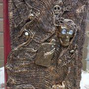 skulls and gravestone diary cover 1